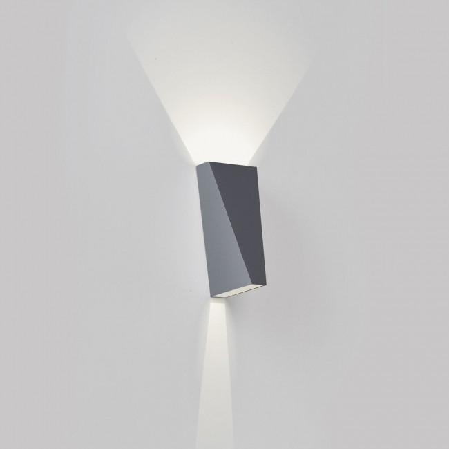 Wandverlichting Delta Light Topix alu