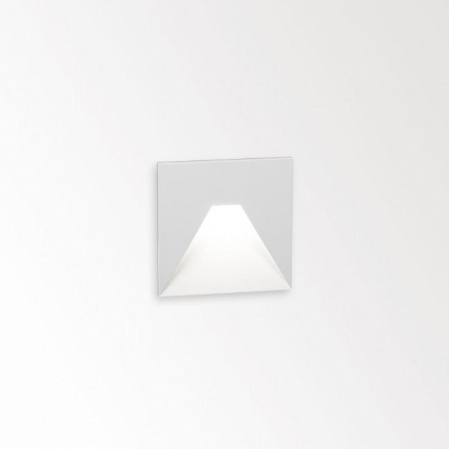 Wandverlichting tuin Delta Light Logic W S wit