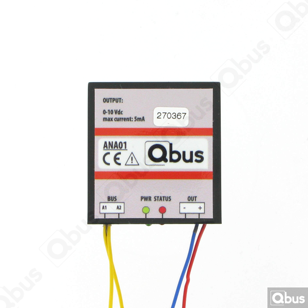 ANA01 Qbus analoge dimmermodule