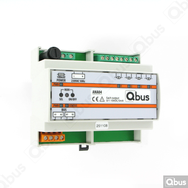 ANA04 Qbus dimmodule
