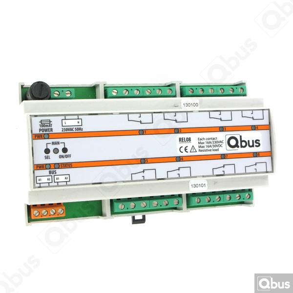 REL08 Qbus relaismodule