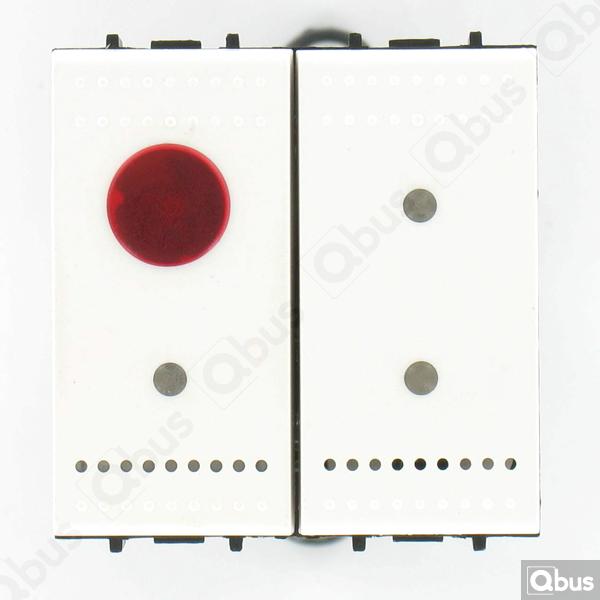 SWC04IN Qbus smart-switch met IR-afstandbediening