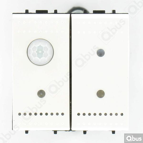 SWC04MTN Qbus smart-switch met bewegingsdetector en thermostaat