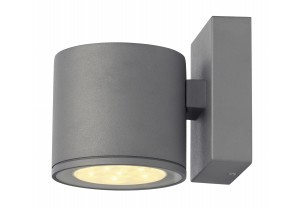 Wandverlichting tuin slv sitra w inclusief led lamp
