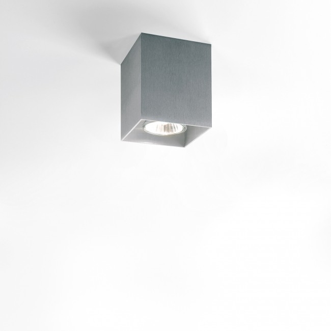 Plafondverlichting Delta Light Boxy Alu