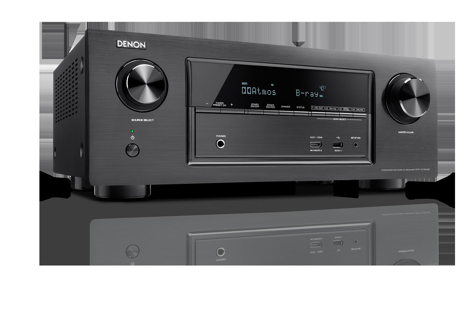 Denon AVR-X2300W AV-receiver voor Home Cinema