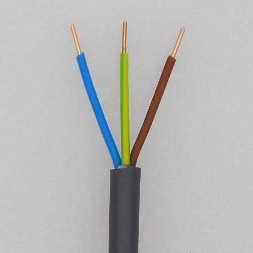 Kabel XVB 3G1,5mm² installatiekabel voor verlichting (rol 100m ...