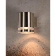 Wandverlichting tuin Lucide Basco LED chroom