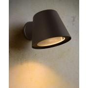 Wandverlichting tuin Lucide Dingo LED zwart