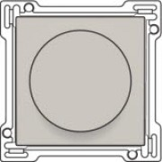 Afwerkingsset 0-1-2 voor draaischakelaar voor motoren, Light grey