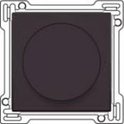 Afwerkingsset 1-0-2 voor draaischakelaar voor motoren, Dark brown