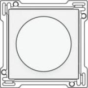 Afwerkingsset 1-2-3 voor draaischakelaar voor motoren, White coated