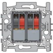 Aansl 2Xspringconnector