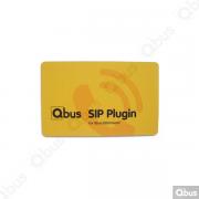 SIP01 Qbus plug-in videofonie voor EQOmmand