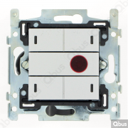 SWC04I121 Qbus smart-switch met IR-afstandsbediening