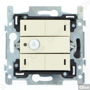 SWC04M100 Qbus smart-switch met bewegingsdetector