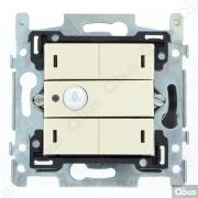 SWC04M101 Qbus smart-switch met bewegingsdetector