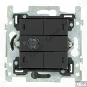 SWC04M122 Qbus smart-switch met bewegingsdetector