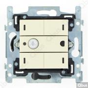 SWC04MT100 Qbus smart-switch met bewegingsdetector en thermostaat