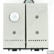 SWC04MTNT Qbus smart-switch met bewegingsdetector en thermostaat
