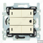 SWC04T100 Qbus smart-switch met thermostaat