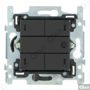 SWC04T122 Qbus smart-switch met thermostaat