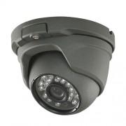 Dome camera 1MP voor binnen / buiten, dag/nacht, anthraciet