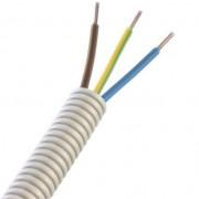 PREFLEX 16MM 3G1,5mm² BL+BR+GG voor verlichting  (rol 100m)