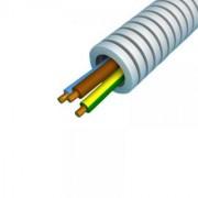PREFLEX 16MM 3G2,5mm² BL+BR+GG voor stopcontacten  (rol 100m)