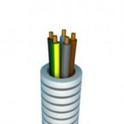 PREFLEX 16MM 5G1,5mm² BL+BR+ZW+GR+GG voor verlichting of rolluiken  (rol 100m)
