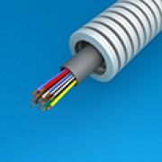PREFLEX 20MM SVV 12X0,8  voor centrale sturing, videofonie, parlofonie, intercom (rol 100m)