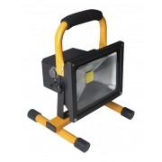 Mobiele COB LED-bouwlamp 20 W 1400 lumen EU-stekker + lithiumbatterij