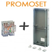 PROMOSET: Meterbox 25S60 Aansluitmodule + lastscheider Elos 125A