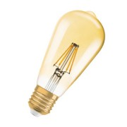 Osram Vintage 1906 LED DIM Edison 54 FIL Gold 1906EDI35FILGD